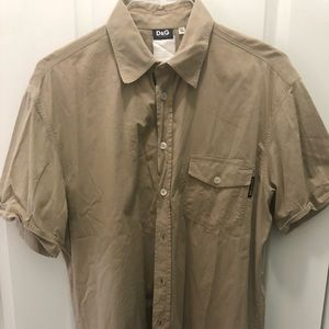 D&G short sleeve shirt